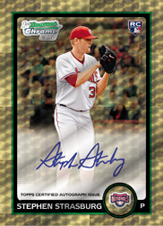 This our first look at the 2010 Bowman Chrome Baseball product. A much anticipated release from Topps after the resurgence of the Bowman line from the first 2010 release. The […]