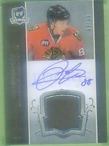 Recently a fake 2007-08 The Cup Patrick Kane RC has surfaced on [ebay:230556069770,eBay]. The card in question is number 85/99. Please see the photos below, the orginal was a single […]