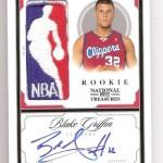 2009-10 National Treasures Blake Griffin Logoman Autograph 1/1