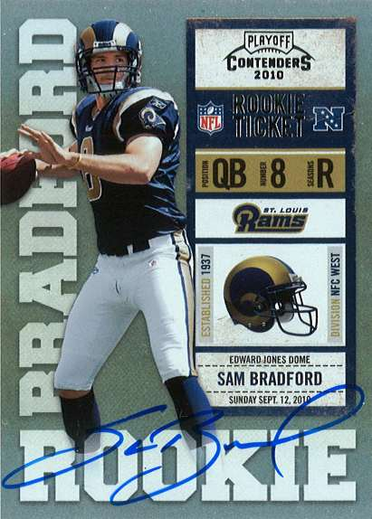 Panini recently released images of the 33 on-card autos that will be available in their upcoming 2010 Playoff Contenders release. The cards, which pay subtle homage to the 1998 release […]