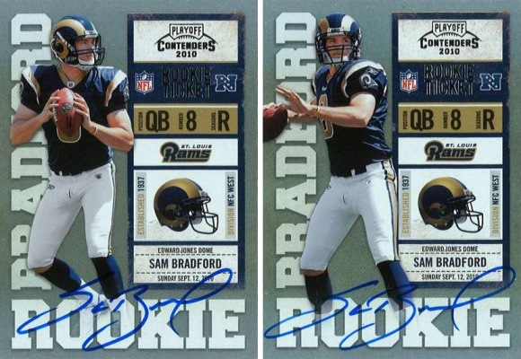 Panini Announces 2010 Playoff Contenders Rookie Ticket Auto Variations