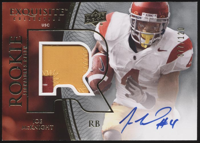 Joe McKnight 2010 Exquisite Auto Variations