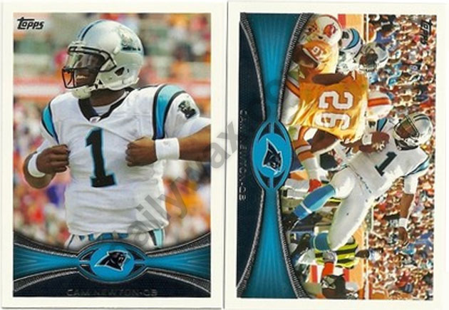 2012 Topps Football Veteran Short Print (SP) Variation List