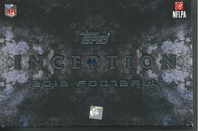 Some HUGE hits coming out of 2013 Topps Inception Football