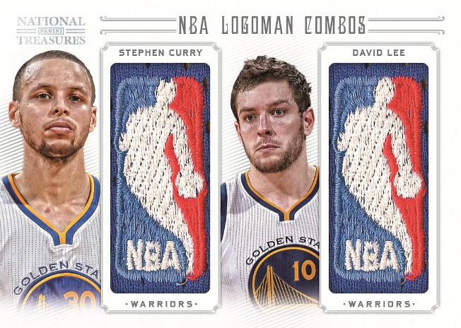 2012-13 Panini National Treasures Basketball Logoman Tracker