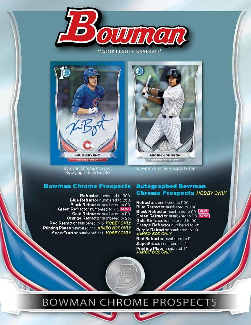 Definitive Guide to the 2014 Bowman Baseball Prospect Autographs