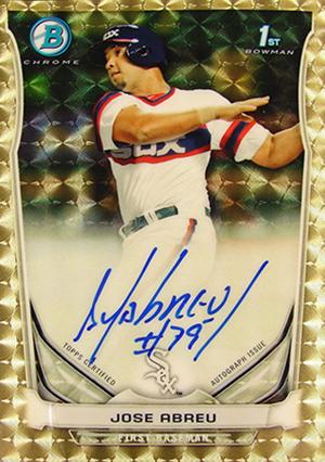 Comprehensive look at 2014 Bowman Baseball Prospect Auto sales on eBay
