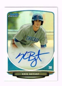 2013 Bowman Chrome Kris Bryant Refractor Autograph