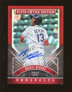 2015 elite rafael devers auto