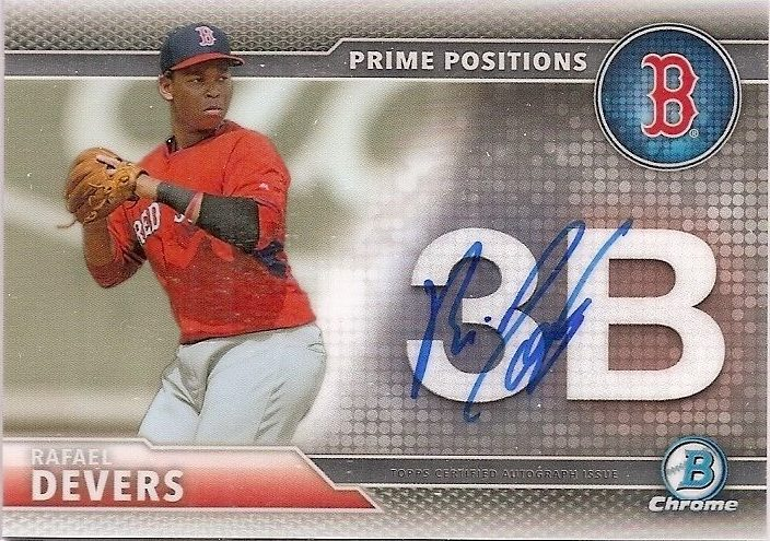 Dailywaxcards Comprehensive Look At Top Rafael Devers
