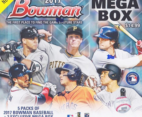 The mystery and the hype surrounding the 2017 Bowman Mega Box