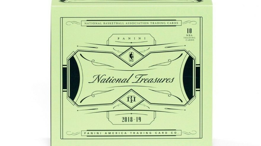 2018-19 Panini National Treasures Basketball FOTL Rookie Patch Auto Tracker
