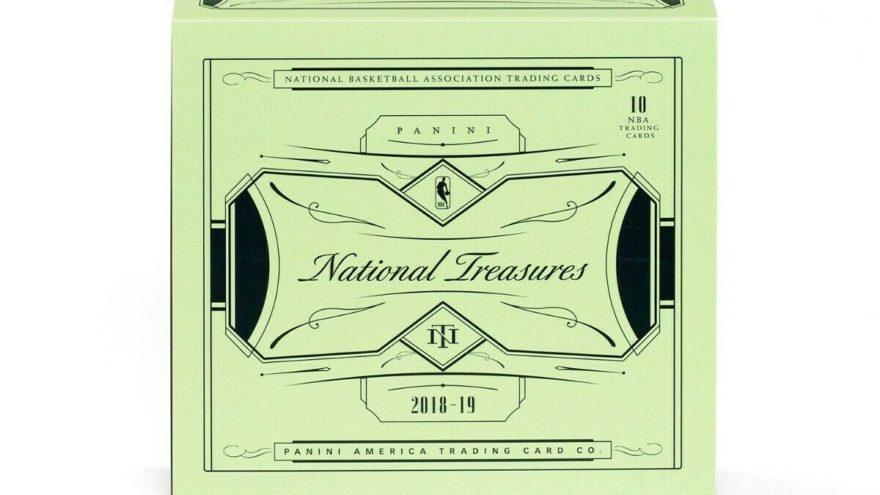 2018-19 Panini National Treasures Basketball FOTL Rookie Patch Auto Tracker